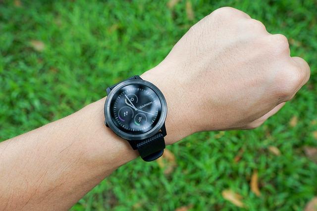 utilisation smartwatch sport